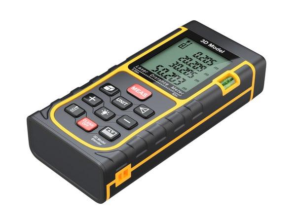 3D distance laser meter