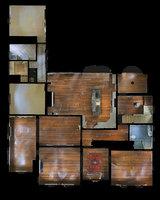 3D haunted home model
