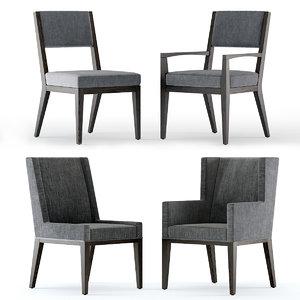 linea chair 3D model