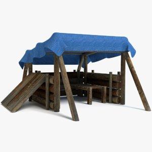 bush craft model