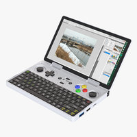 photoreal gaming ultra-mobile pc 3D model
