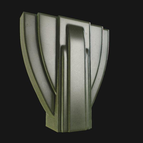 vase art 3D model