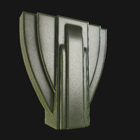Art Deco Vase 01 VR / AR / low-poly