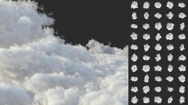 vdb clouds volume 3D model