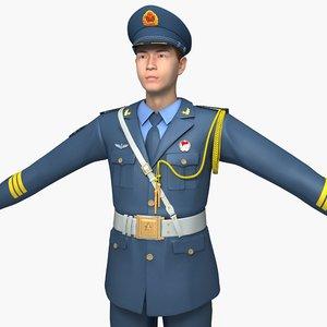air force honor guard model
