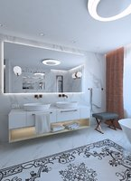 3D bathroom bath