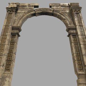old ruins 3D model