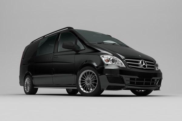 3D mercedes vito sport model