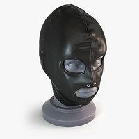 bdsm mask 3D model