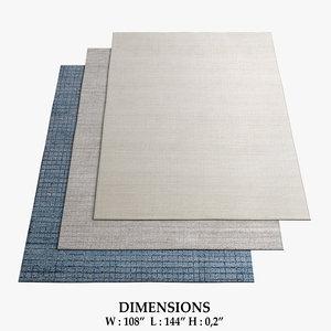 3D rugs 82 model