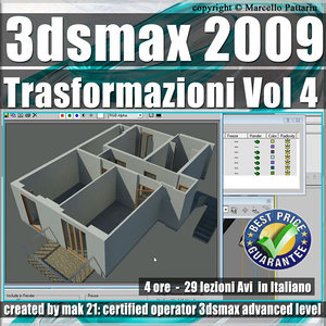 004 Corso 3ds max 2009 Le Trasformazioni vol.4