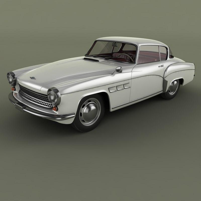 3D 1960 wartburg neumann 313