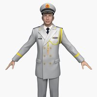 China Navy Officers (Spring and Autumn Clothes)