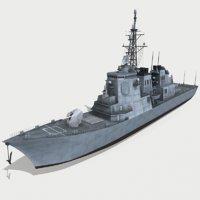 3D model kongo ddg