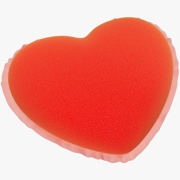 stuffed heart 3D model