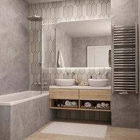 bath bathroom 3D