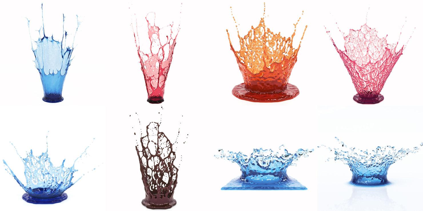 crowns splash pack 3D model