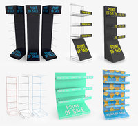 3D display rack 6 1