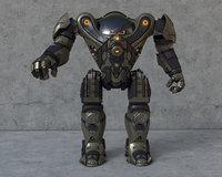 Military Robot / Armor