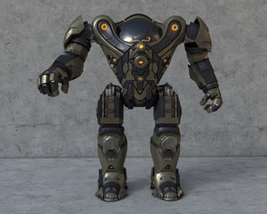 robot armor 3D