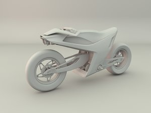 3D model electronic motor concept
