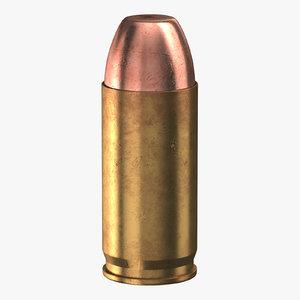 3D bullet 40 sw model