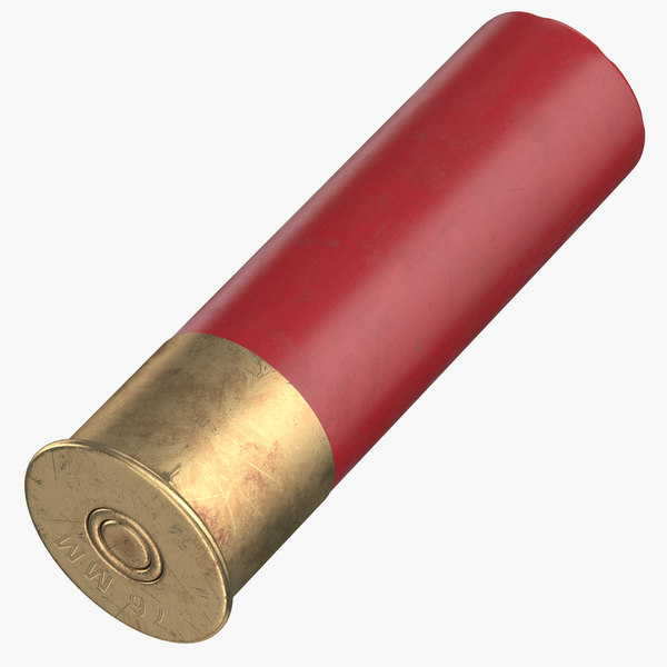 3D model bullet 76 mm laying