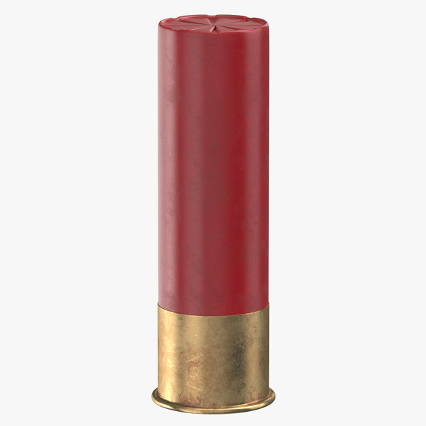 3D bullet 76 mm model