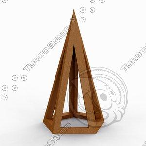 3D pentagonos leonardo vinci