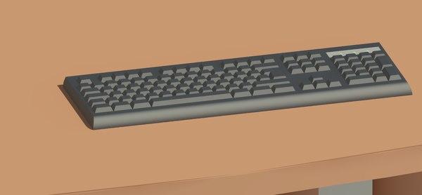 computer keyboard model