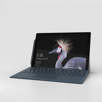 microsoft surface 2017 3D model