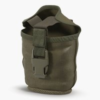 3D military pouch