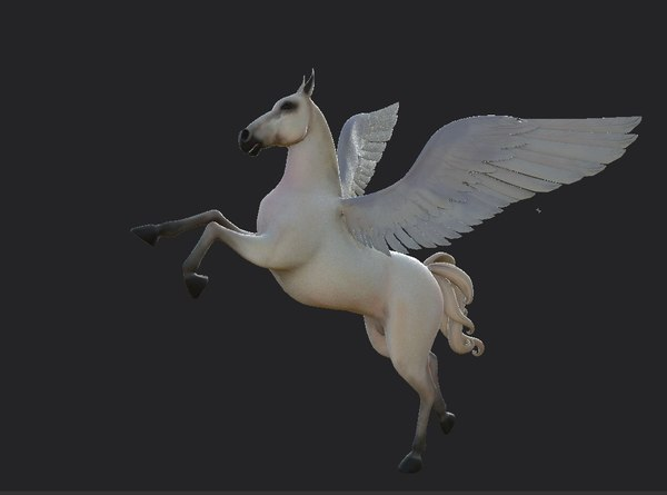 pegasus horse wings 3D model