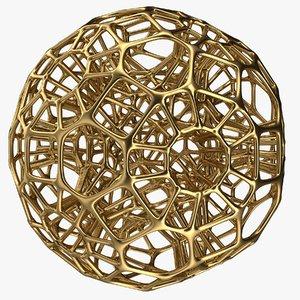 3D ball sphere geometry model