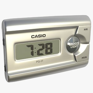 3D model casio alarm clock