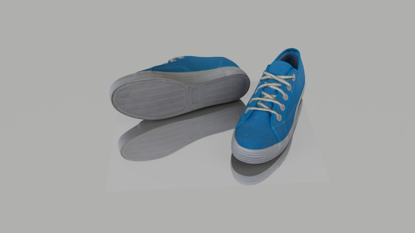 shoes polys 3D