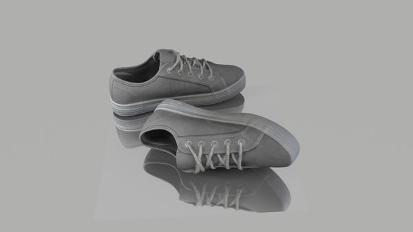 pair shoes 3D model