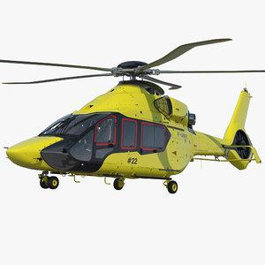 3D model airbus h160 air