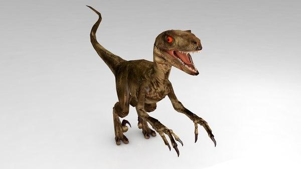 raptor dinosaur model