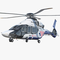 helicopter airbus h160 air 3D model