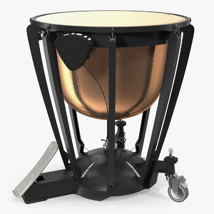 yamaha hammered copper concert 3D