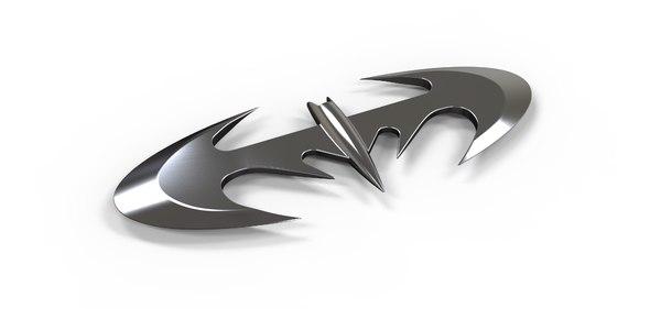 bat batarang 3D model