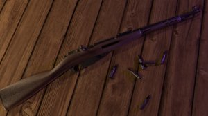 mosin-nagant soviet 91 59 3D model