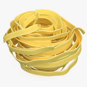pasta nest spaghetti model
