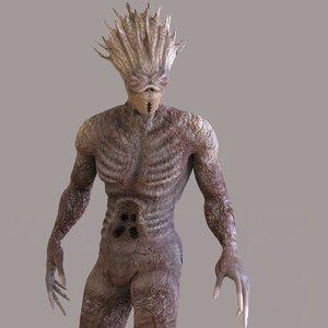 monster character 3D model
