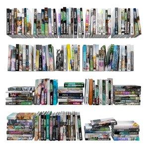 shelve bookcase 3D model