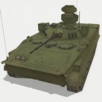 3D russian brm-3k lynx model