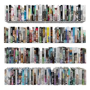 3D model shelve bookcase