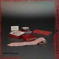 decorative accessories set 3D model