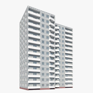 building residential 3D model